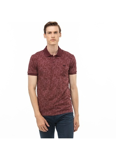 Lacoste Erkek Slim Fit Tişört PH0020.20B Bordo